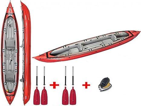 gumotex - Seawave Rojo Kayak hinchable 044119-r (5 C/11 C) C ...