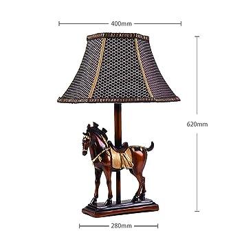 Plafonnier Rétro Américain De Cheval Ame Art À Table Lampe Modeler AL54j3Rcq