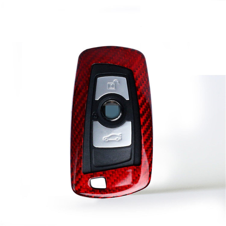 Black M.JVisun Black Men/'s Car Key Fob Case Women/'s Fob Cover Genuine Carbon Fiber Cover For BMW X3 X4 M5 M6 GT3 GT5 BMW 1 2 3 4 5 6 7 Series Smart Fob Remote Key Mens Car Key Fob Case Womens Fob Cover 100/% Carbon Fiber Case For BMW Key Fob