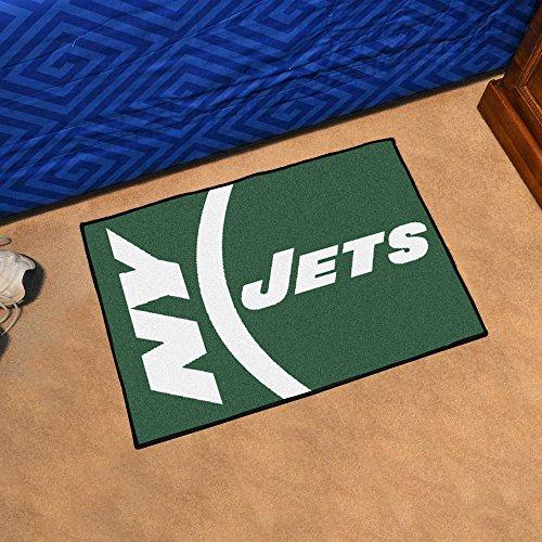 - Fan Mats New York Jets NFL Starter Uniform Inspired Floor Mat - 20 x 30 Inch