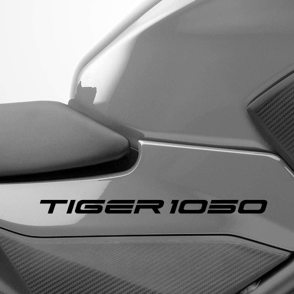 Negro Brillante Motocicleta Superbike Pegatinas Calcoman/ías Pack Impermeable Triumph Tiger 1050