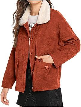 Winter Warm Color Block Hooded Corduroy Jacket Women Side Pocket Drawstring Coat