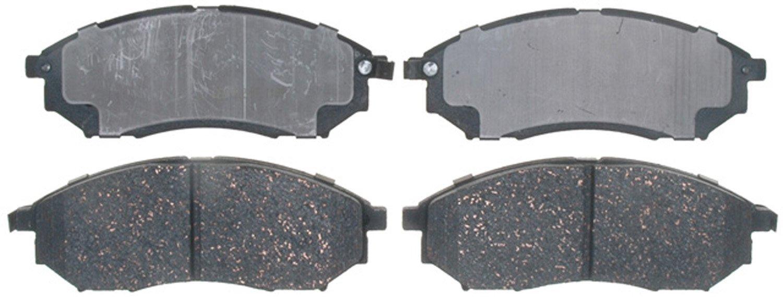 ACDelco 17D888C Professional Ceramic Front Disc Brake Pad Set