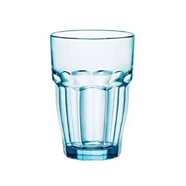 Bormioli Rocco 12.5 oz. Rock Bar Lounge Stackable Long Drink Glass, Ice, Set of 6