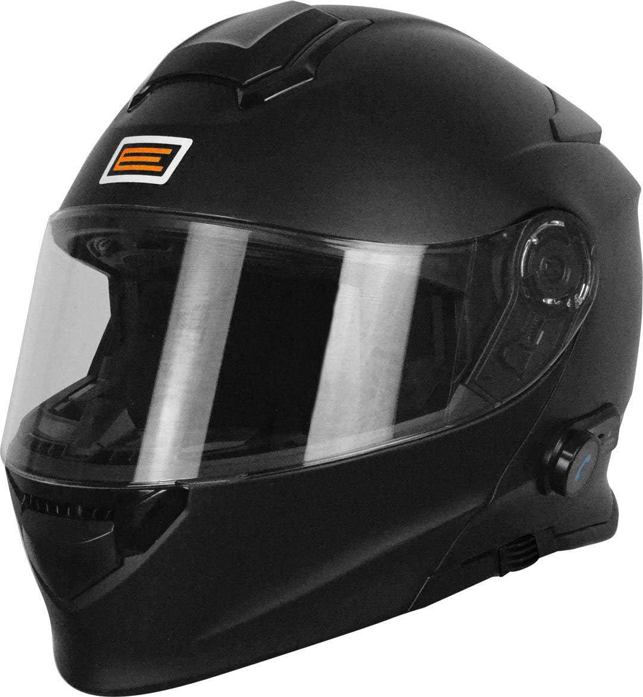 Origine Helmets 204271720100006Delta Solid Matt Casco desmontable con Bluetooth integrado, negro, XL