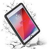 iPad Mini 5 Waterproof Case 2019, meritcase Shockproof Dustproof Full-Body Heavy Duty Protective Case with Built-in Screen Pr