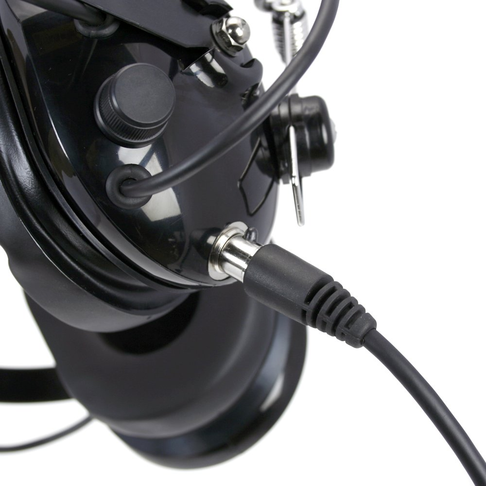 Rugged Radios CC-KEN 2-Pin to 5-Pin Coil Cord Cable For Kenwood, HYT, Baofeng, and Relm Two Way Handheld Radios and Headsets