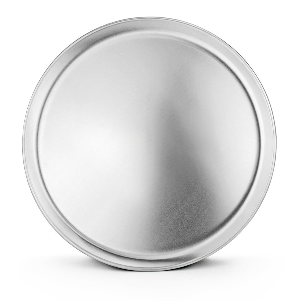 New Star Foodservice 51032 Pizza Pan / Tray, Coupe Style, Aluminum, 14 inch, Pack of 6