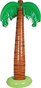 Inflatable Palm Tree Party Accessory (1 count) (1/Pkg)