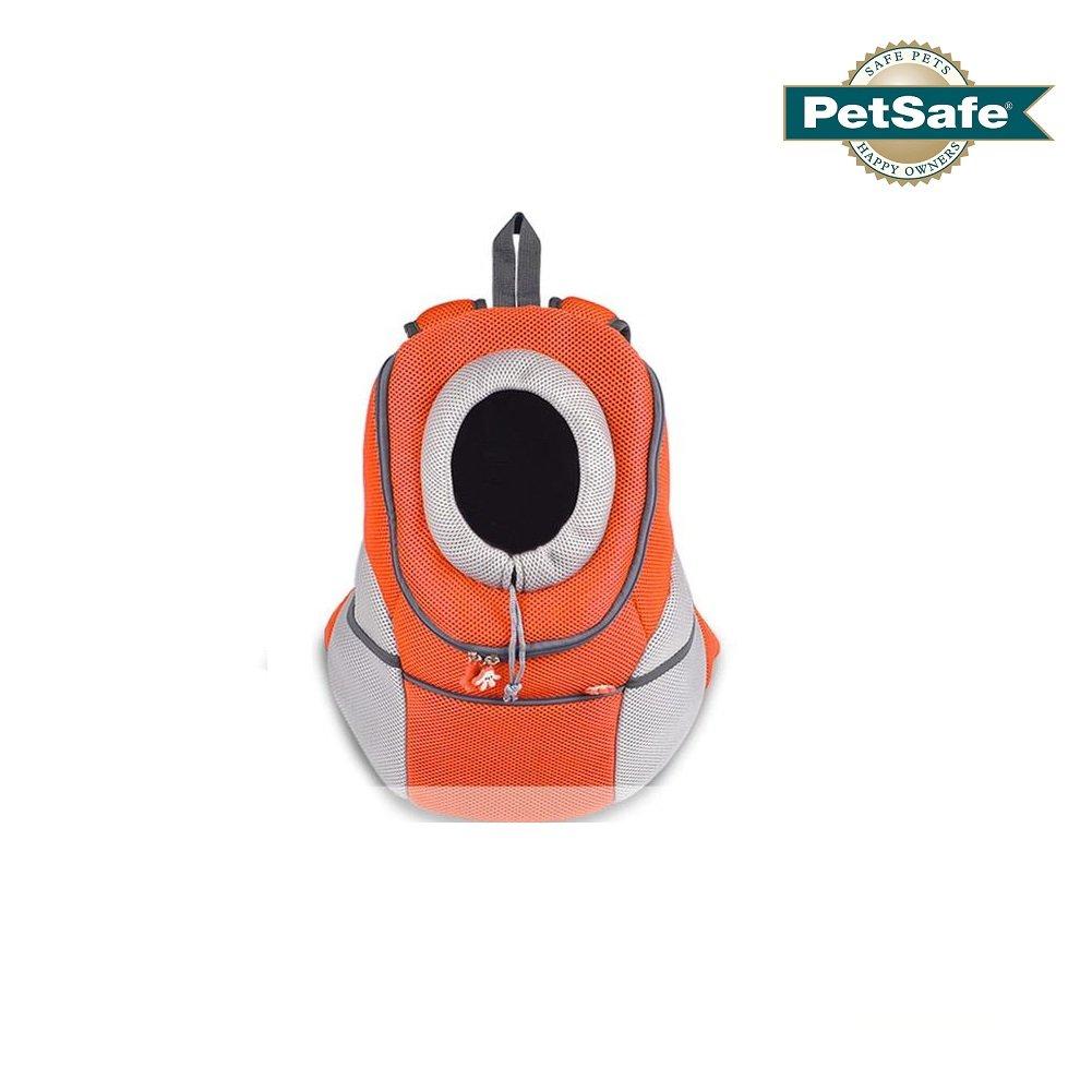 Ducomi Pets Courmayeur - Sac à Dos pour Transporter Les Chiens et Les Chiots en Tissu Elastique et Perméable à l'Air (XL, Rose)