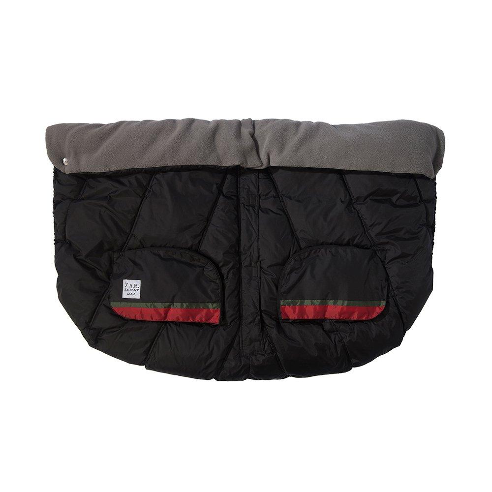 7AM Enfant Duo Double Stroller Blanket, Black