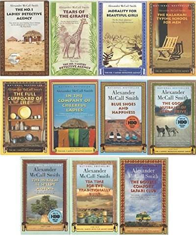 The No. 1 Ladies' Detective Agency Series Set, Books 1-11: The No. 1 Ladies' Detective Agency, Tears of the Giraffe, Morality for Beautiful Girls, The Kalahari Typing School for Men, The Full Cupboard of Life, In the Company of Cheerful Ladies, Blue Shoes and Happiness, The Good Husband of Zebra Drive, The Miracle at Speedy Motors, Tea Time for the Traditionally Built, and The Double Comfort Safari Club (First Lady Detective Agency)