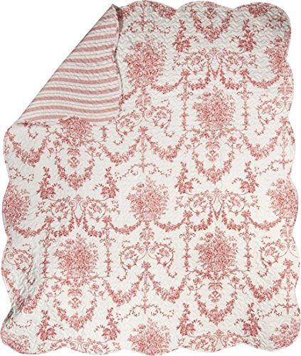 red and white quilt - 4