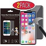 [PREMIUM] APPLE iPhone 8 / 7 / 6s / 6 (2pack) #1 Screen Protector Nano-Tech Screen Shield Glass Anti-Scratch / Anti- Shock / Anti-Fingerprint / Flexible Material / Does Not Brake / Best Quality