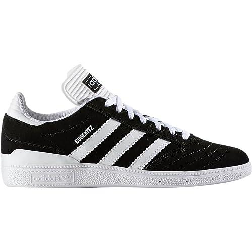 super popular 60835 4ea8e Adidas Busenitz Sneaker da Uomo Originals, Nero (Core Black Footwear  White Footwear