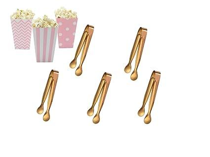 Marry & You Juego de 5 Candy Bar Alicates Set con Palomitas ...