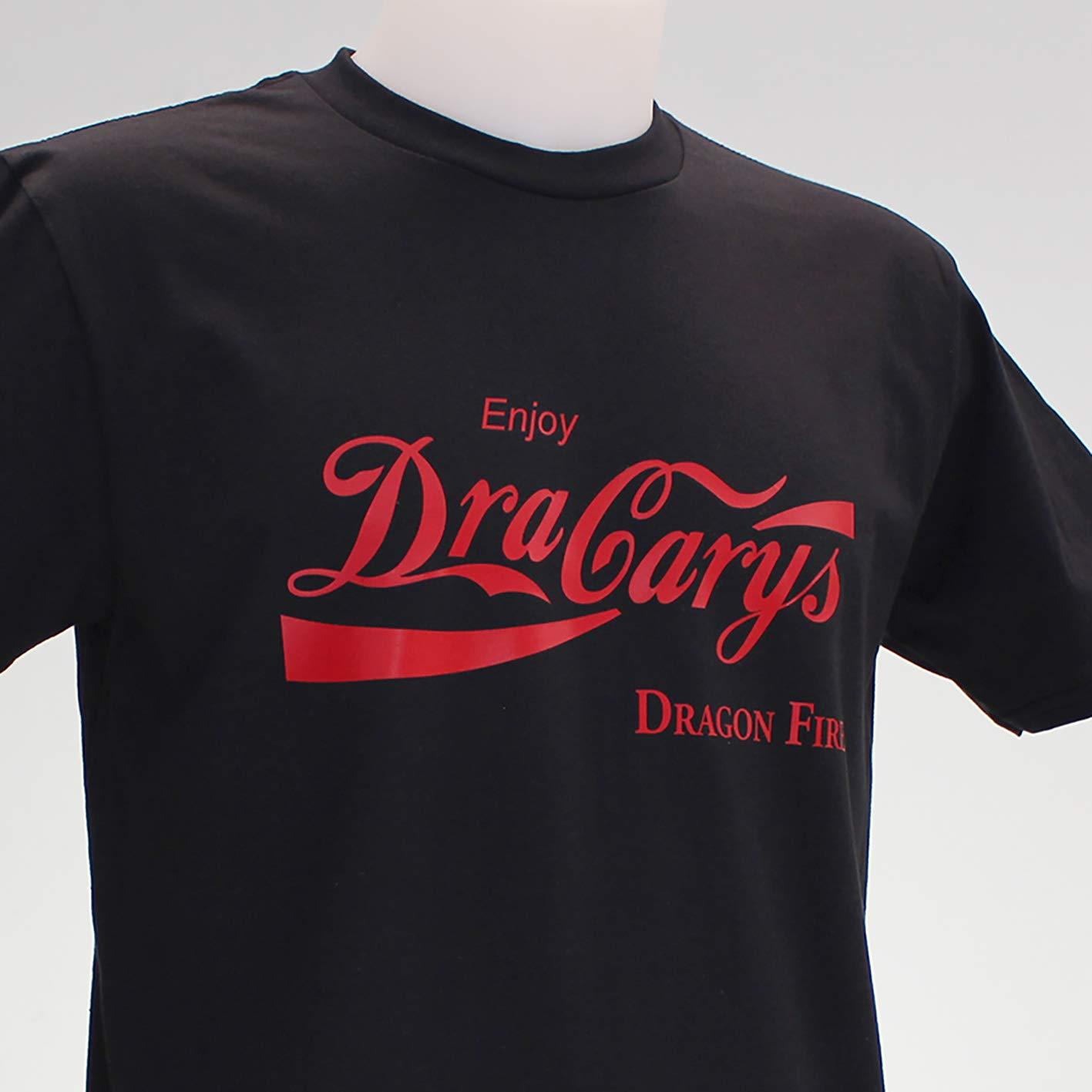 Dracarys Cola. Camiseta negra de chico.: Amazon.es: Handmade