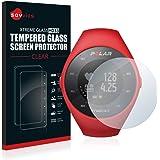 savvies Cristal Templado Compatible con Polar M200 Protector Pantalla Vidrio Proteccion 9H Pelicula Anti-Huellas