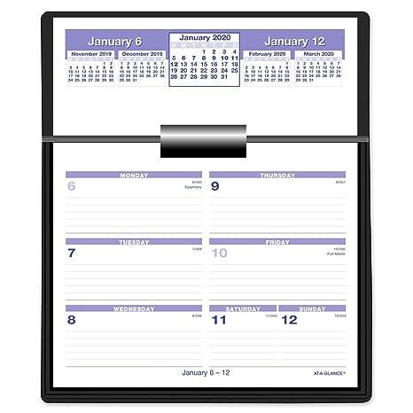 Amazon.com: AT-A-GLANCE 2020 - Recambio de calendario ...