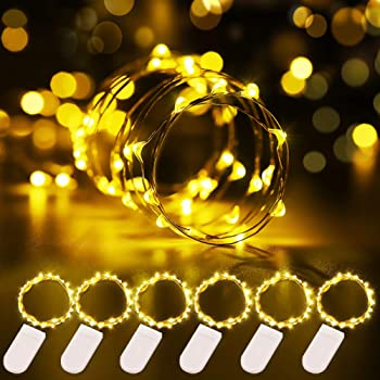 Govee 6 Pack Battery Operated LED Fairy Lights