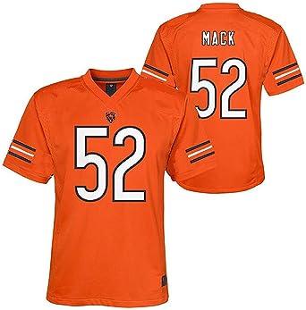 Khalil Mack Chicago Bears NFL Youth 8-20 Orange Alternate Mid-Tier Jersey