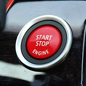 Engine Start Stop Buttons Switch Cover Trim For BMW E60//E70//E90//E92//E93 3 Series