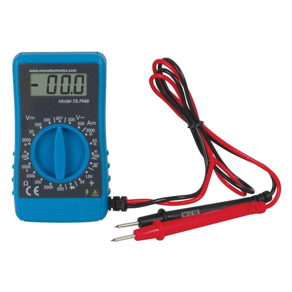 Pro Signal 72-7940 Handheld Digital Multimeter, 200 mA