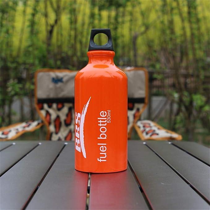 ZJRVOQSLP Botella de Combustible de Aluminio con Alcohol ...