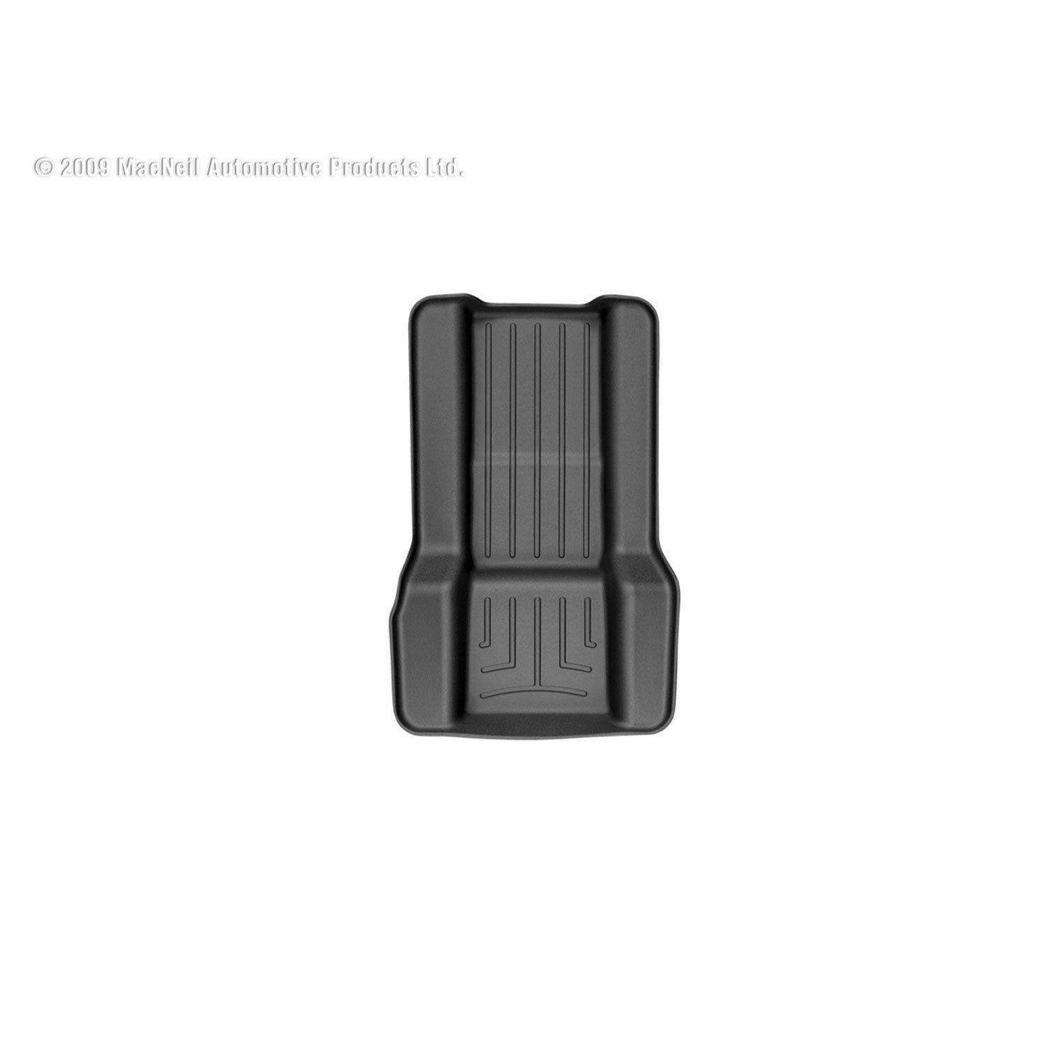 440667 Black WeatherTech Custom Fit Rear FloorLiner for Select Chevrolet//Cadillac//GMC Models