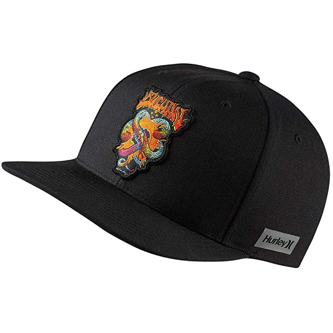 3c63f02d9d5 Amazon.com  Hurley Men s Team Pro Snapback Hat (Adrian  Ace  Buchan ...