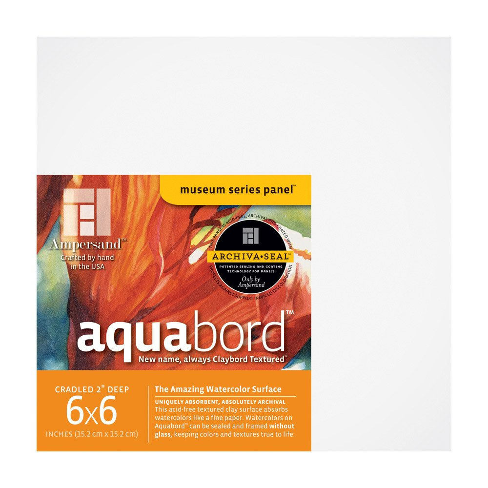 Deep Red Aanbieding.Amazon Com Ampersand Aquabord 6 In X 6 In Pack Of 4