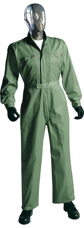 [サンディスク]SUN DISK[ツナギ服]通年 腰のびプリーツ 中厚タイプ オールシーズン 長袖ツヅキ服(044-2-050/2-049) B01FIGM8QO 3L|2-049-アースグリーン 2-049-アースグリーン 3L