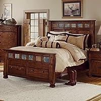 Sunny Designs 2322DC-EK Santa Fe Eastern Bed, King