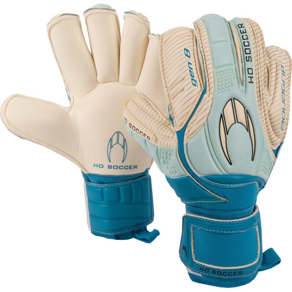 メンズHo Soccer Aqua Grip Gen 8ロールゴールキーパーグローブfor Soccer B074SWTX82 9.5