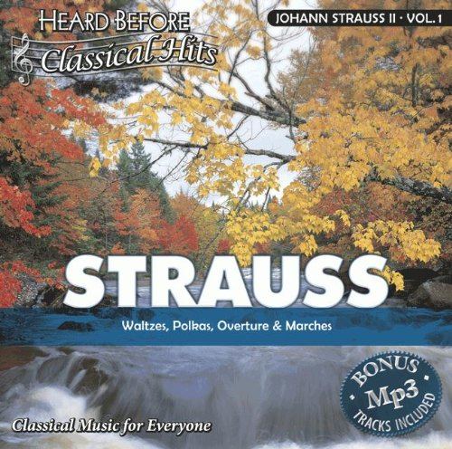 Price comparison product image Strauss II,  Johann [vol. 1]: Waltzes,  Polkas,  Overture,  & Marches