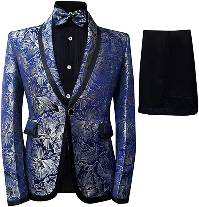 Amazon.com: Cloudstyle - Traje de esmoquin para hombre: Clothing