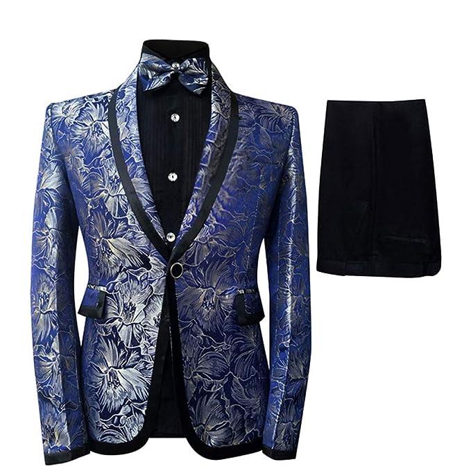 Amazon.com: Cloudstyle - Traje de esmoquin para hombre: Clothing