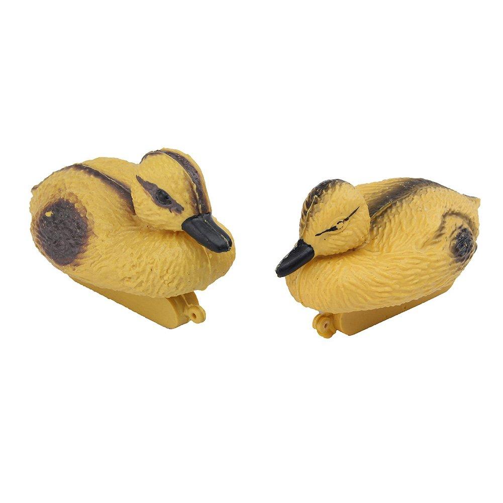 Patos flotantes, pato flotante, disuasorio, repelente, caza, tiro, estanque, piscina, decoración flotante de pájaros ornamentales: Amazon.es: Hogar