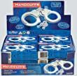 Metal Toy Handcuffs With Keys & Quick Release Lever