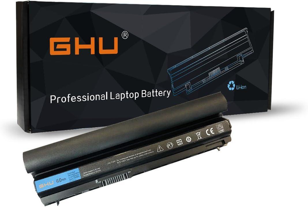 GHU Bater/ía 65 WH para DELL Latitud Port/átil OEM Rfjmw F7W7V Y61Cv De E6220 E6320 6230 6320 6 E6230 Celular Negro