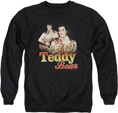 Elvis Presley Teddy Bear Adult Tank Top T-shirt