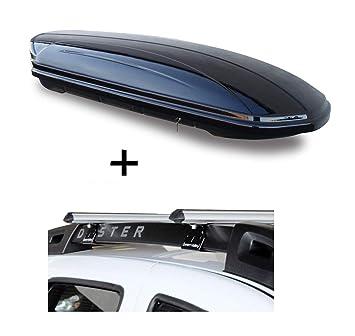 ab 2015 Aluminium Dachtr/äger Aurilis Original f/ür Mercedes CLA Shooting Brake 5T/ürer Dachbox VDPMAA320 320Ltr abschlie/ßbar schwarz matt