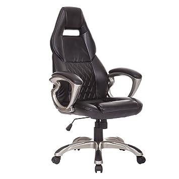 Homcom Racing Gaming deporte silla giratoria silla de ...