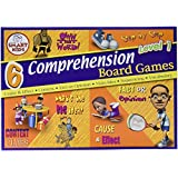 6 Reading Comprehension Board Games Level 1
