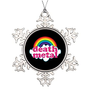 dobend tree branch decoration death metal rainbow design snowman christmas decorations - Death Metal Christmas