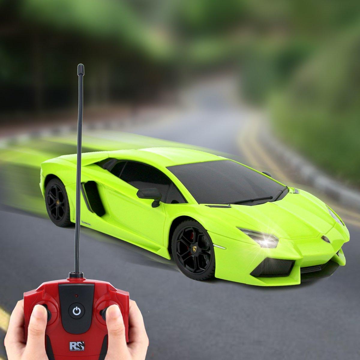QUN FENG RC Car 1:18 Lamborghini Aventador Radio Remote