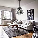 LightInTheBox Hive Pendant,1 Light, Creative Black Iron Painting, Modern Home Ceiling Light Fixture Flush Mount, Pendant Light Chandeliers Lighting, Voltage=110-120V