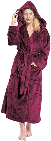 Kate MORGAN - Albornoz con capucha para mujer