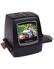 Film Slide Scanner, Converts 35mm Film Negatives & Slides to Digital Photos, Negative Film and Slide to Digital JPEG for SD Card, No Computer/Software Needed