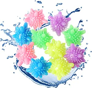 Laundry Balls Washing Ball,Laundry Scrubbing Balls Tangle-Free for Washing Machine, 15 Packs